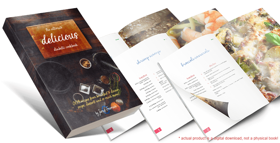 'Delicious - The Ultimate Diabetic Recipes'